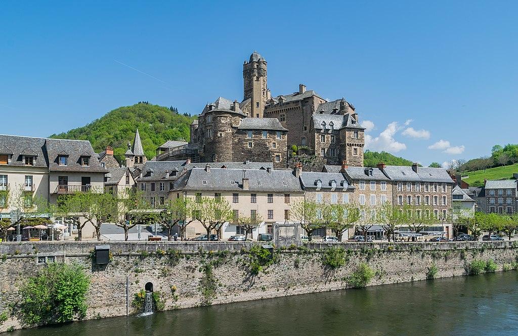 Villade de l'Estaing en Aveyron