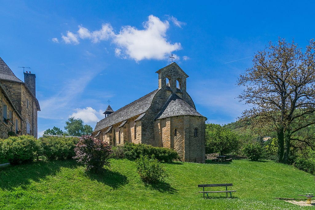 La chapelle de Saint Come D'Olt