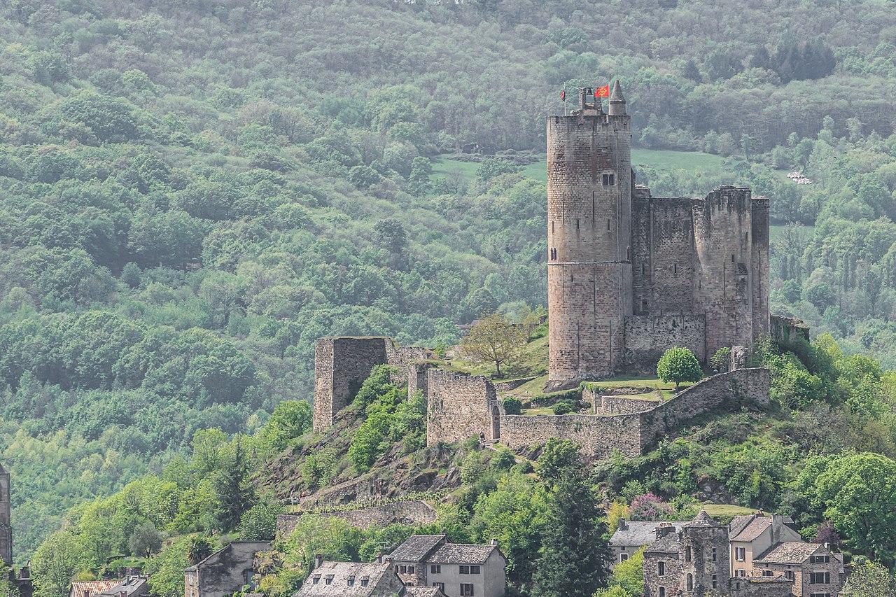 A la découverte du Château de Najac en Aveyron 1