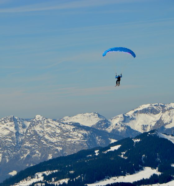 Parapente et Speed Rising à Chamonix : sensations garanties 1