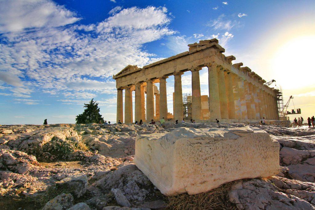 Le Parthenon en Grèce